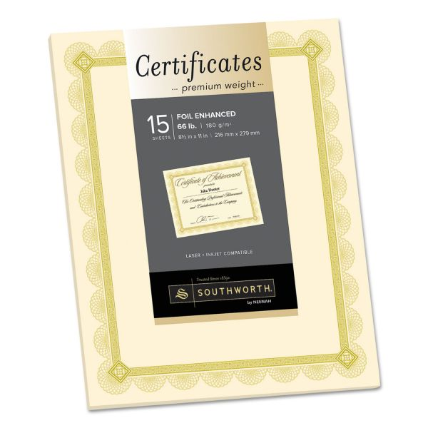 Southworth Premium Certificates
