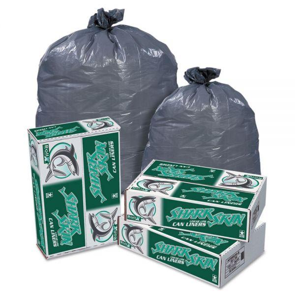 Pitt Plastics Shark Skin Linear 33 Gallon Trash Bags