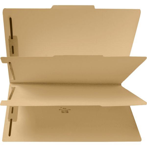Sparco Manila 2-Divider Classification Folders