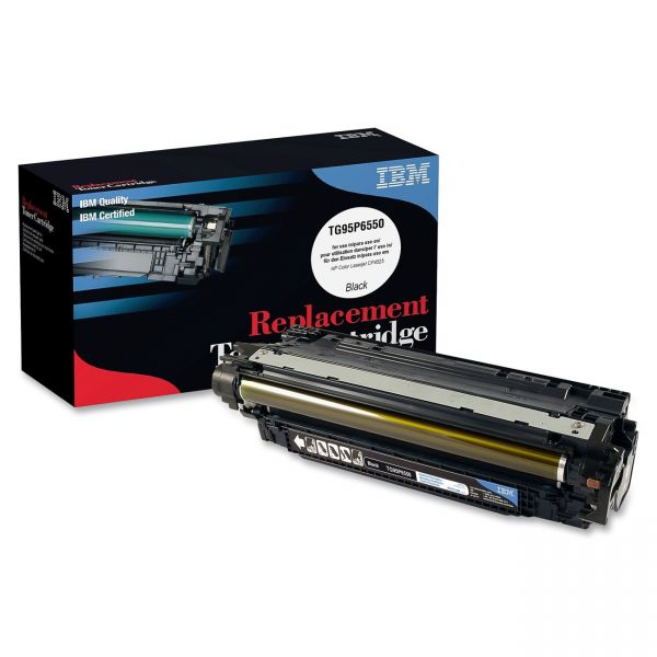 IBM Remanufactured HP CE260X Black Toner Cartridge