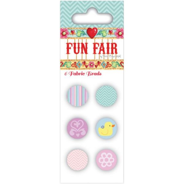 Helz Fun Fair Fabric Brads