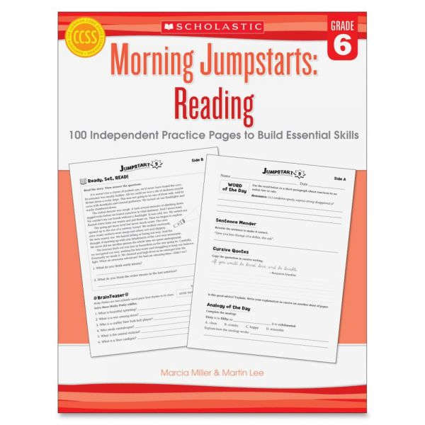 Scholastic Grade 6 Jump Starts Reading Book Education Printed Book