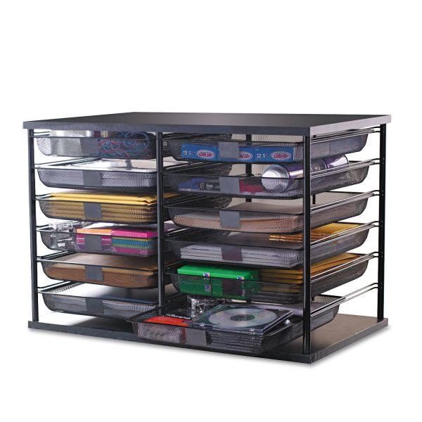 Rubbermaid 12-Compartment Desktop Organizer