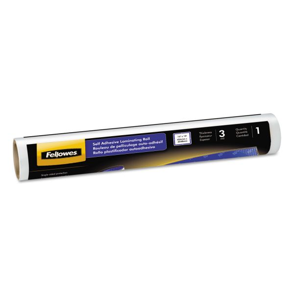 Fellowes Self-adhesive Laminating Roll, 3mil