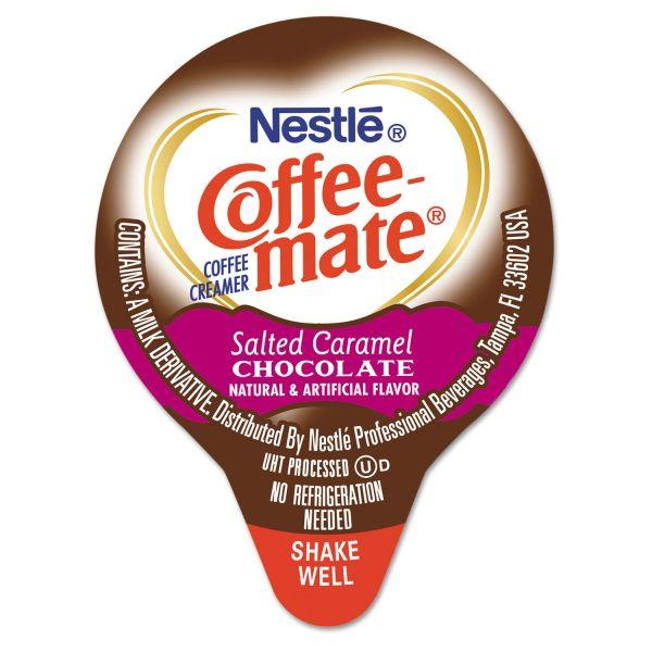 Coffee-mate Salted Caramel Chocolate Flavor Liquid Coffee Creamer Cups