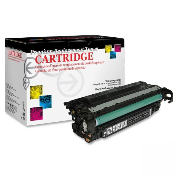 West Point Products Remanufactured HP CE250X Black Toner Cartridge