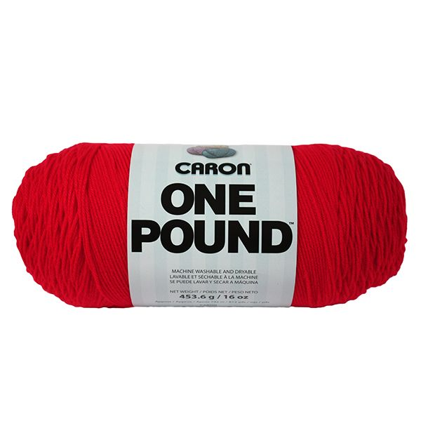 Caron One Pound Yarn - Scarlet