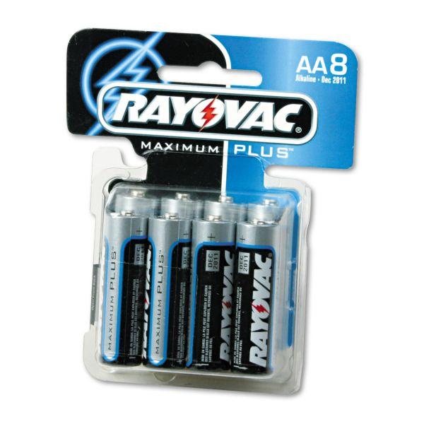 Rayovac Maximum Plus AA Batteries