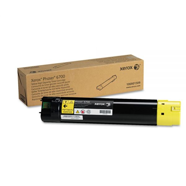 Xerox 106R01509 Yellow Toner Cartridge