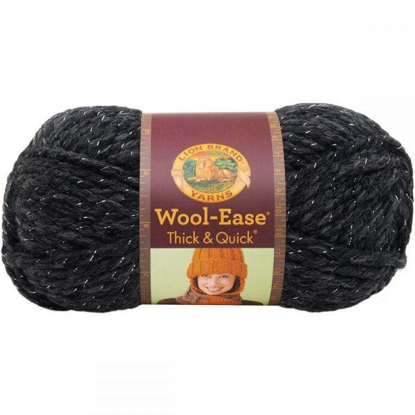 Lion Brand Wool-Ease Thick & Quick Yarn - Constellation-Metallic