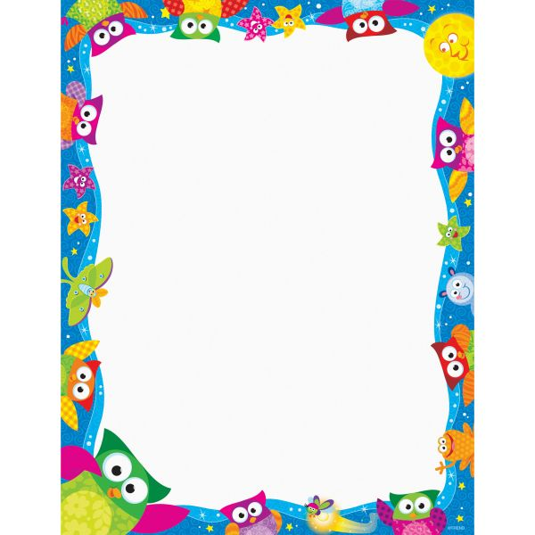 Trend Owl - Stars Collection Terrific Papers - Letter