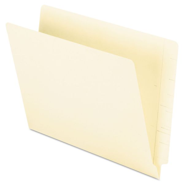 Oxford Letter Size End Tab File Folders