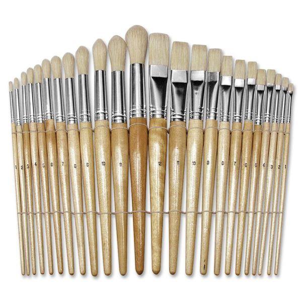 ChenilleKraft Round Preschool Paint Brush Set