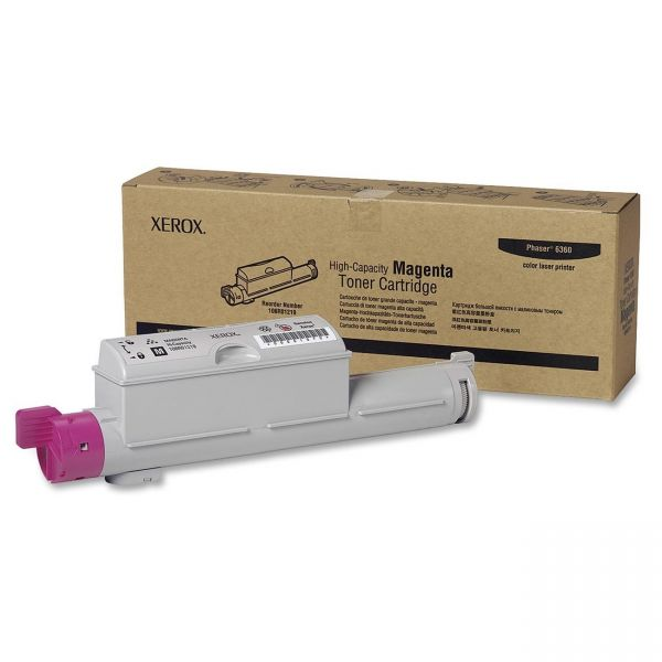 Xerox 106R01219 Magenta High Yield Toner Cartridge