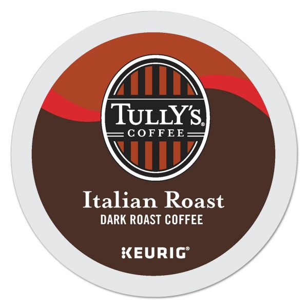 Tully's Coffee Italian Roast Coffee K-Cups