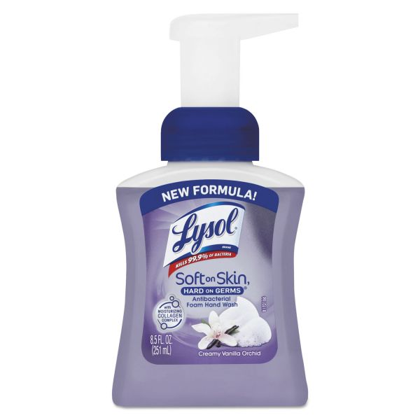 LYSOL Brand Touch of Foam Antibacterial Hand Soap