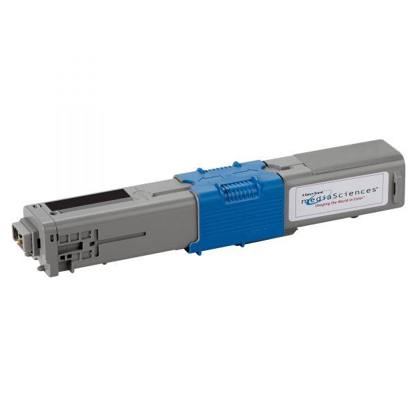 Media Sciences Remanufactured Oki 44469801 Toner Cartridge