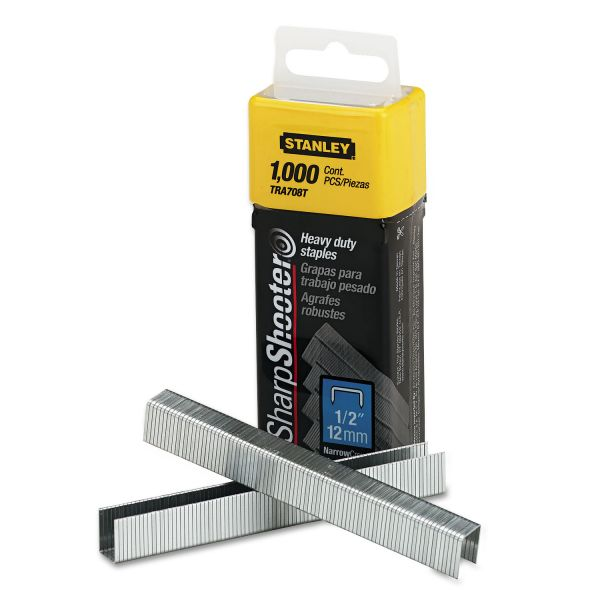 "Stanley-Bostitch Heavy-Duty 1/2"" Staples"