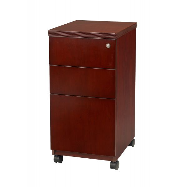 Mayline Luminary Series 3-Drawer Mobile File Cabinet