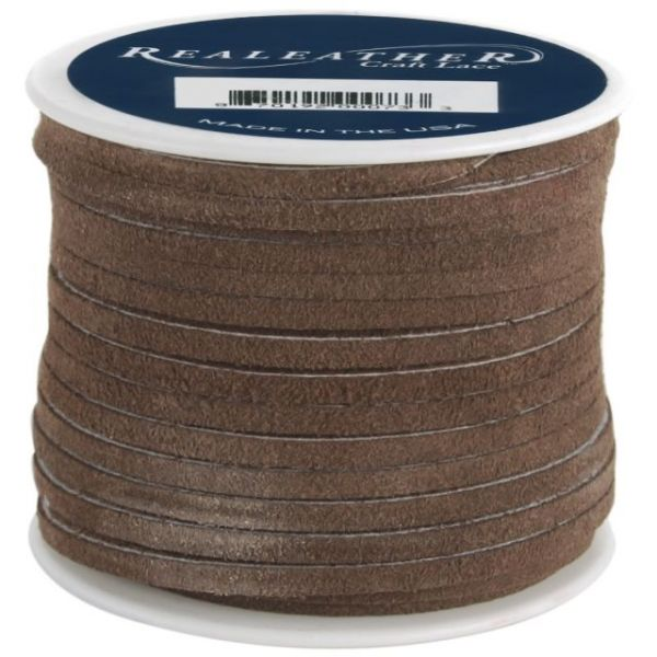 "Suede Lace .125""X25yd Spool"