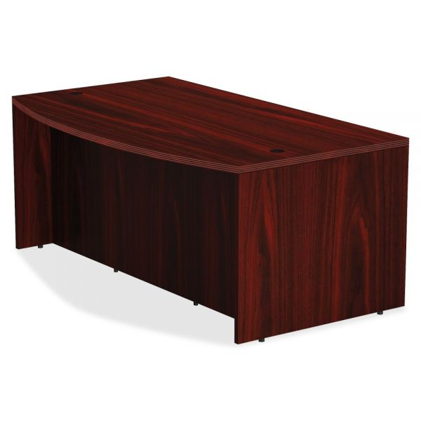 Lorell Bowfront Desk Shell