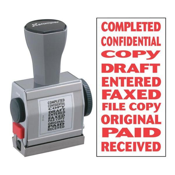 Xstamper 10-In-1 Phrase Stamp