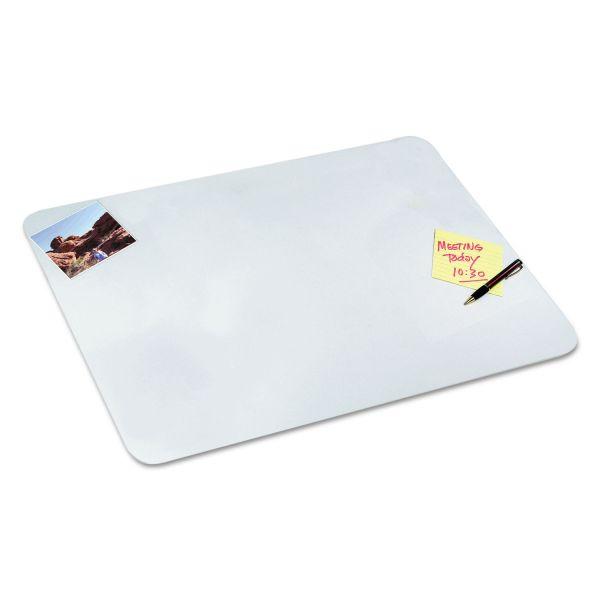 Artistic Clear Desk Pad, 20 x 36, Clear Polyurethane