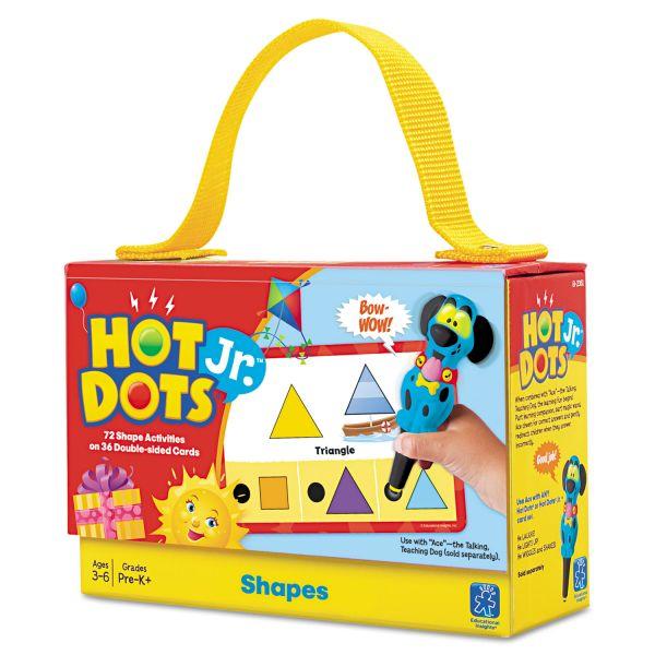 Hot Dots Jr. Card Set Shapes