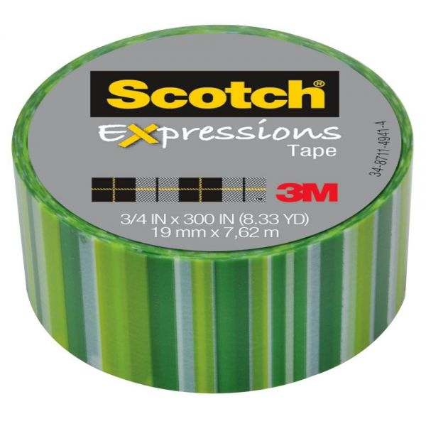 Scotch Expressions Transparent Tape Refill