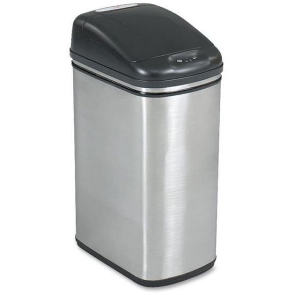 Safco Hands Free 11.5 Gallon Trash Can