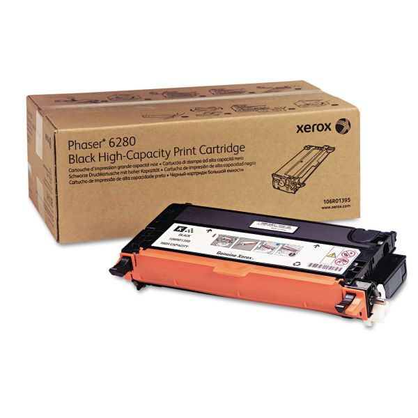 Xerox 106R01395 Black Toner Cartridge