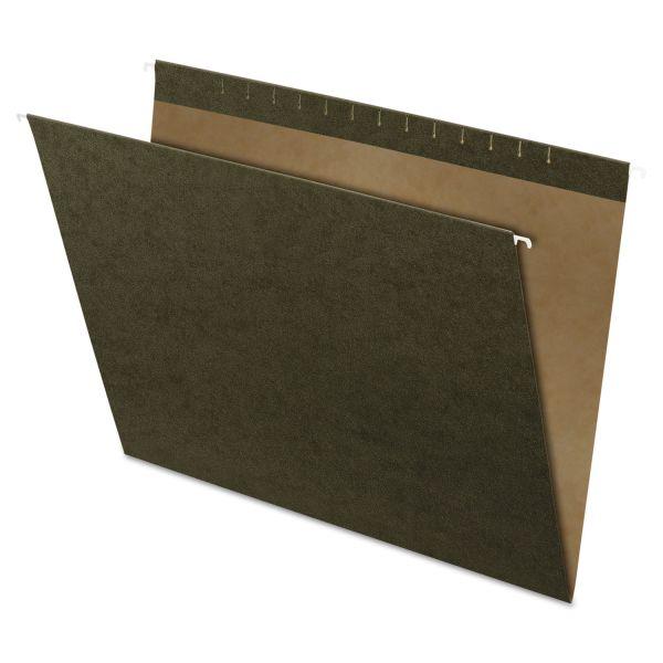Pendaflex X-Ray Hanging File Folders, Standard Green, 25/Box