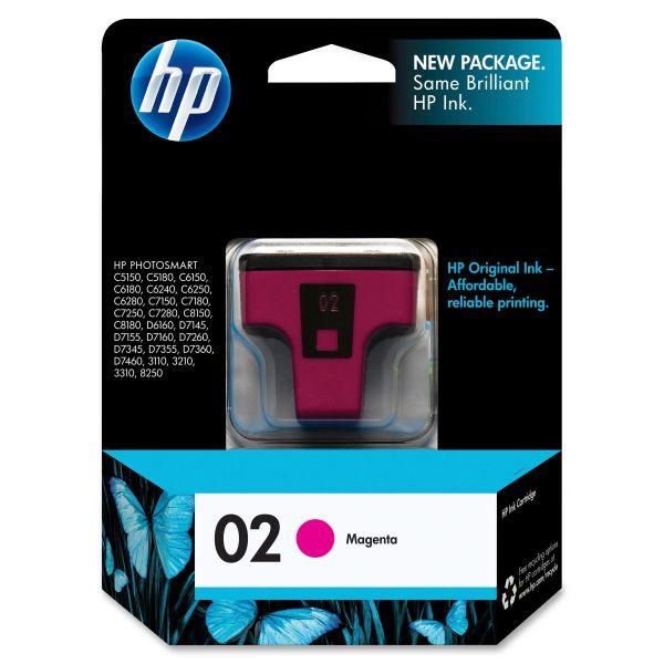 HP 02 Magenta Ink Cartridge (C8772WN)