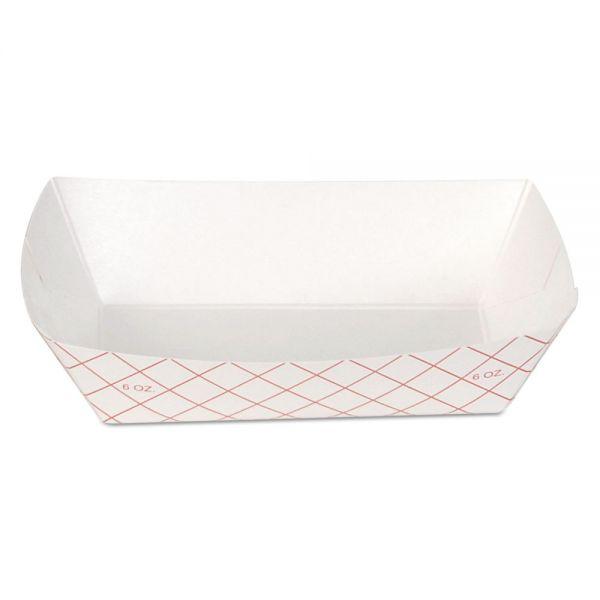 Dixie Kant Leek 6 oz Paper Food Trays