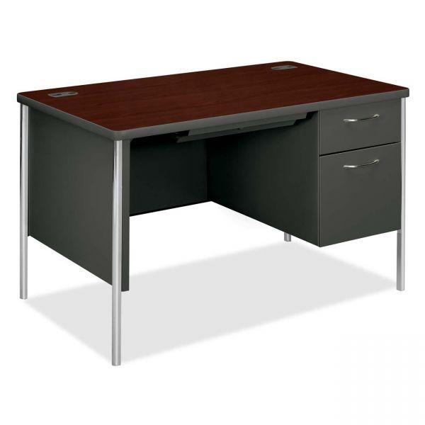 HON Mentor Series Pedestal Computer Desk