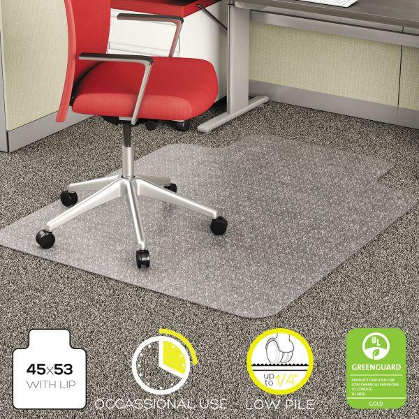 Deflect-o EconoMat Low Pile Chair Mat
