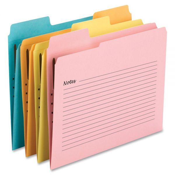 Smead SuperTab Notes Fastener Folders