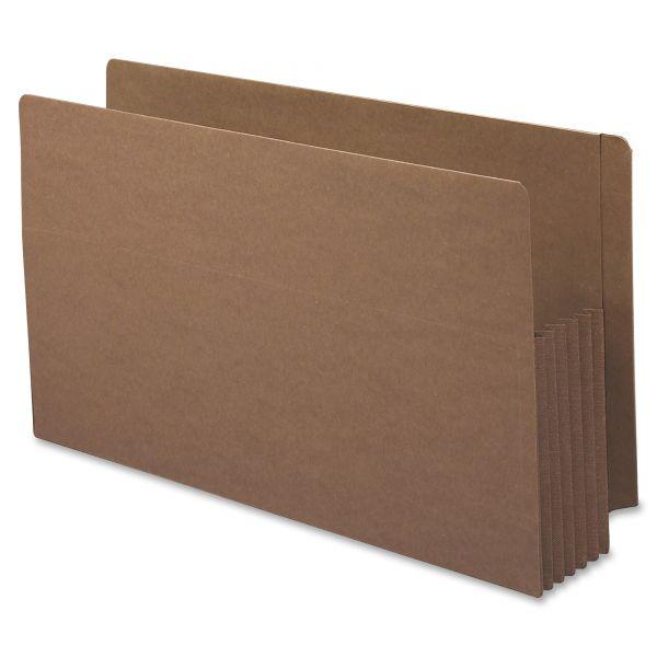 Smead Accordion Drop Front End Tab File Pockets