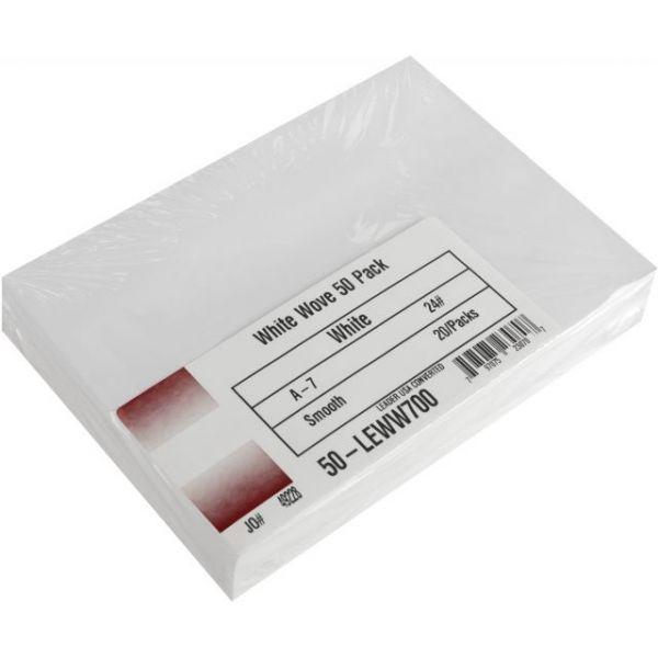 """Leader A7 Envelopes (5.25""""X7.25"""") 50/Pkg"""