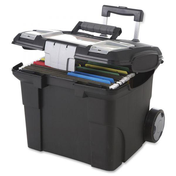 Storex Premium Mobile File Cart