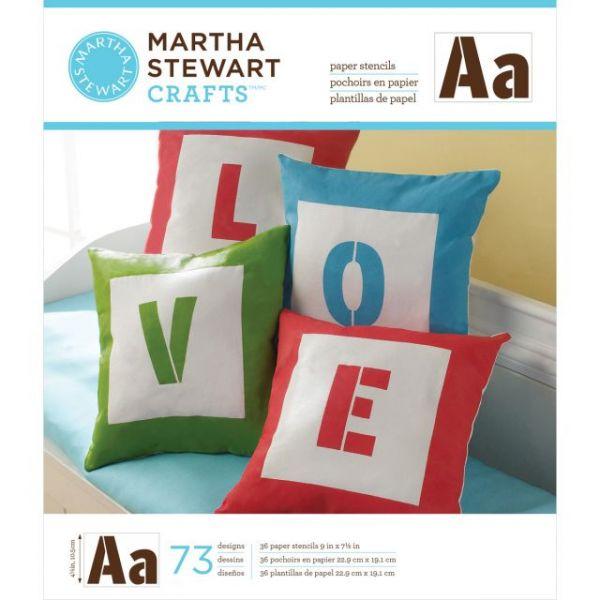 Martha Stewart Large Paper Stencils 36/Pkg