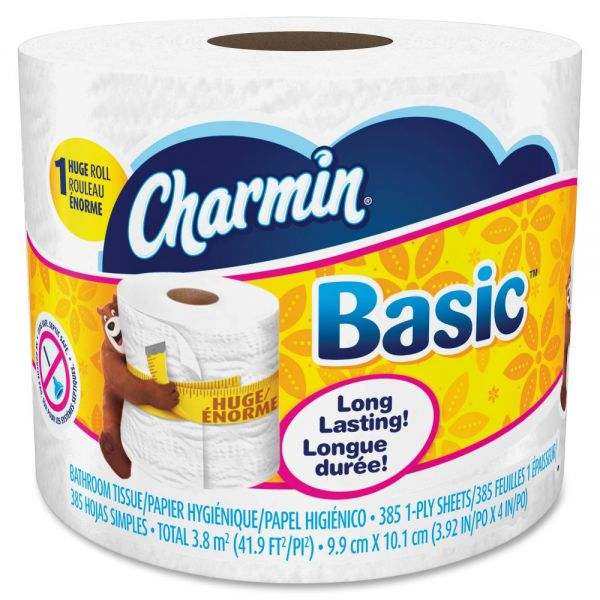 Charmin Basic 1 Ply Toilet Paper