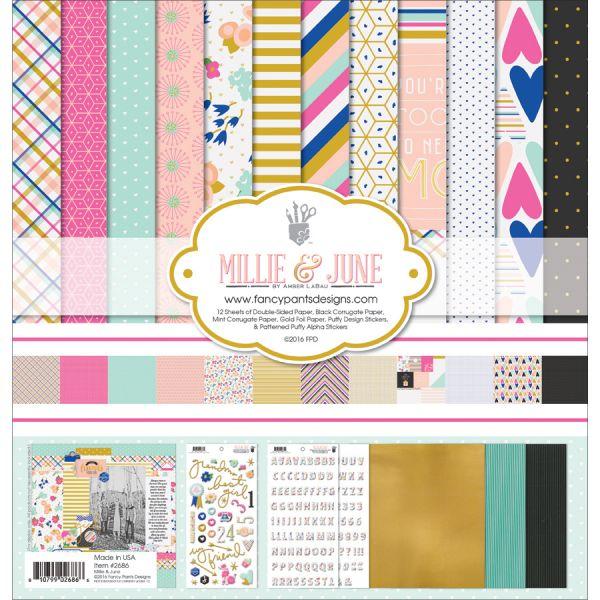 "Fancy Pants Designs Collection Kit 12""X12"""