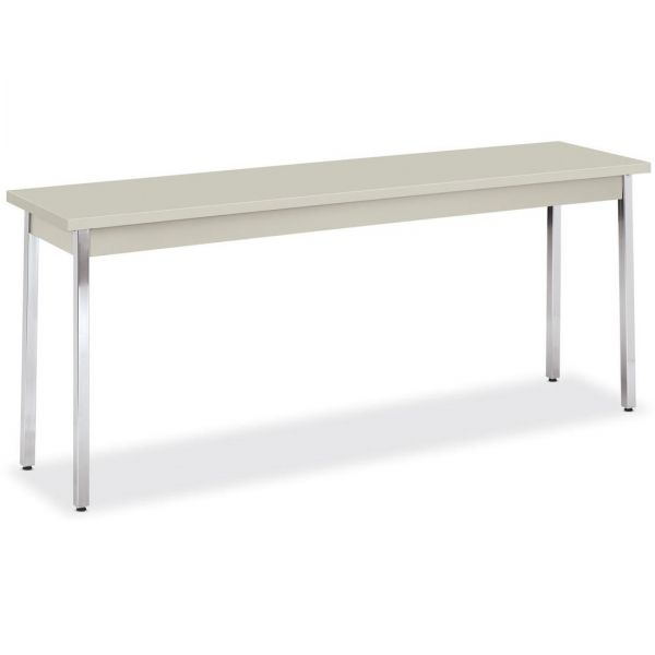 HON Metal Utility Table  18D x 72W