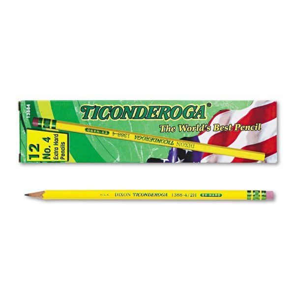 Ticonderoga #4 Wood Pencils