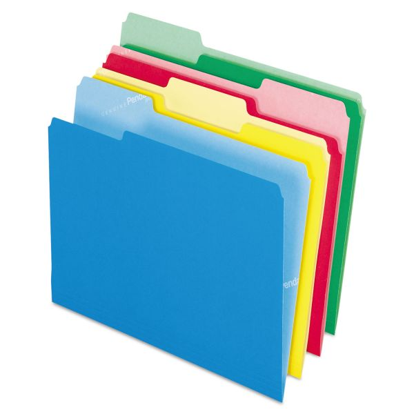 Pendaflex Cutless Colored File Folders