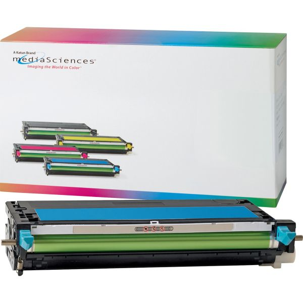 Media Sciences 39200 Remanufactured 310-8095 (RF012) Toner, Cyan