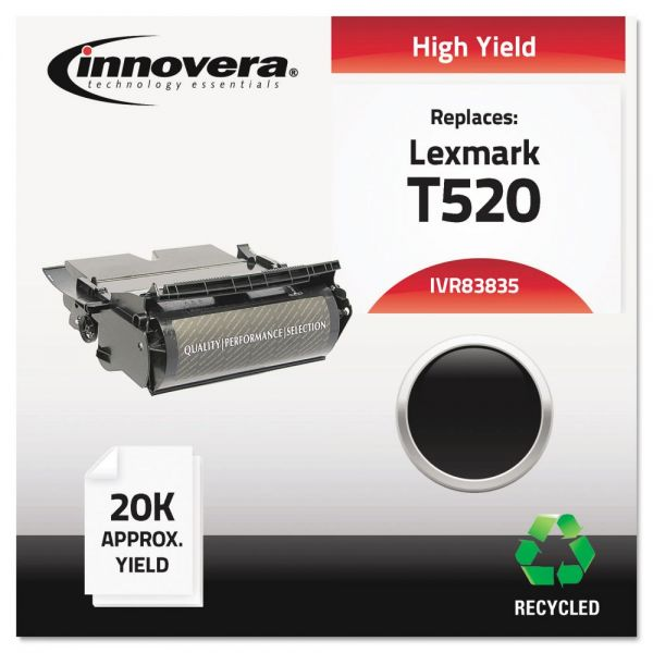 Innovera Remanufactured Lexmark T520 High Yield Toner Cartridge