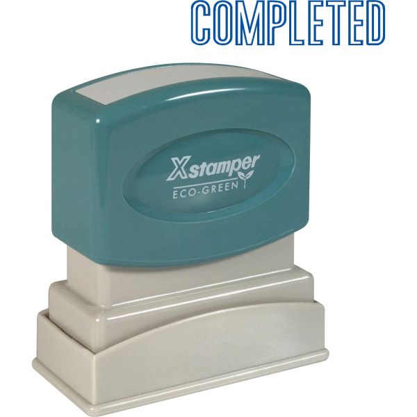 Xstamper COMPLETED Title Stamp