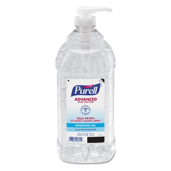 Purell Economy Size Advanced Instant Hand Sanitizers